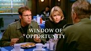 Episode:Window of Opportunity